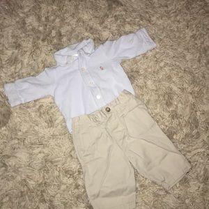 2 Piece Ralph Lauren Outfit